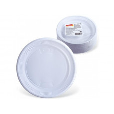 Тарелка десертная белая (100 шт)