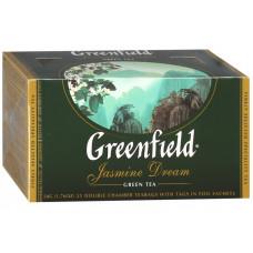 Чай Гринфилд Зеленый жасмин 25 пак