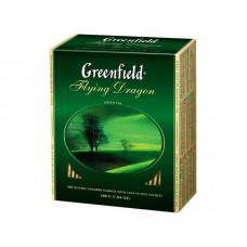 Чай Гринфилд Зеленый Лет. Дракон 100 пак